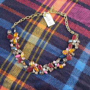 J. Crew Mixed Stone Statement Necklace - NWT